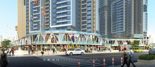 城市综合体设计效果图,城市综合体装修效果图,城市综合体装修设计效果图