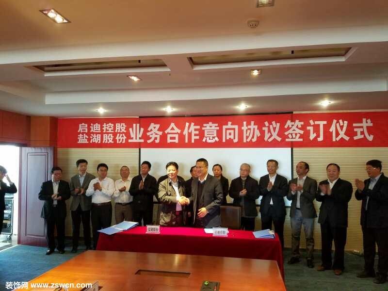 启迪清洁能源集团与盐湖股份签订全面战略合作协议