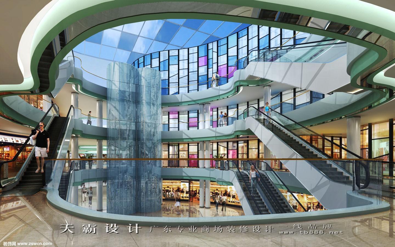商场装修设计效果图吉安地区规模第一名项目供参考