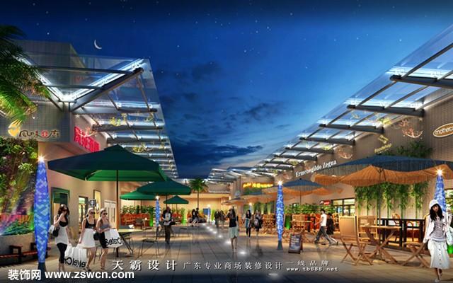 新元素多业态化城市综合体装修设计效果图分享