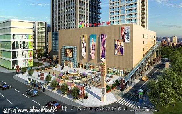 可参考的设计优异城市综合体装修效果图