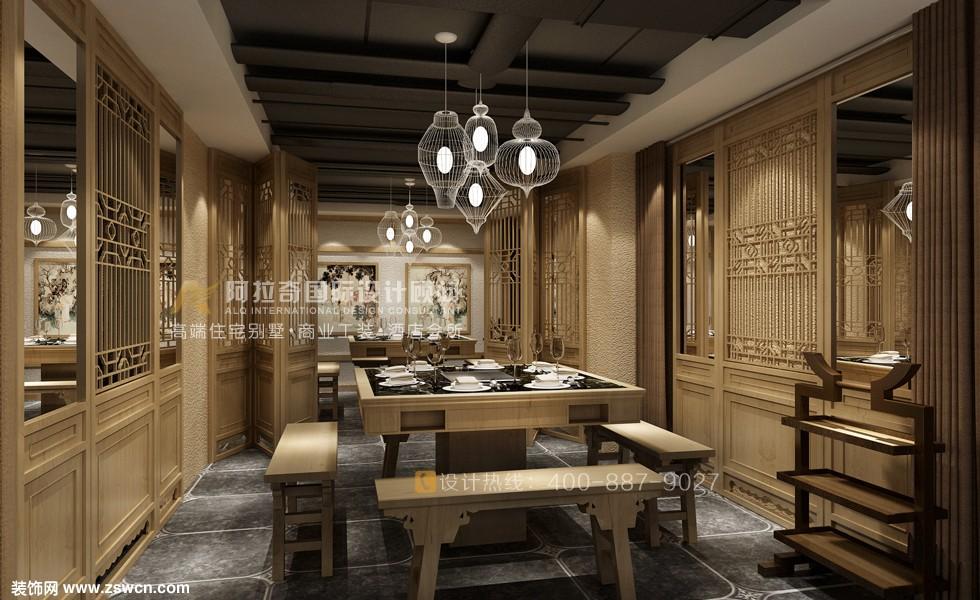阿拉奇曾鹏——梦回巴蜀餐厅设计