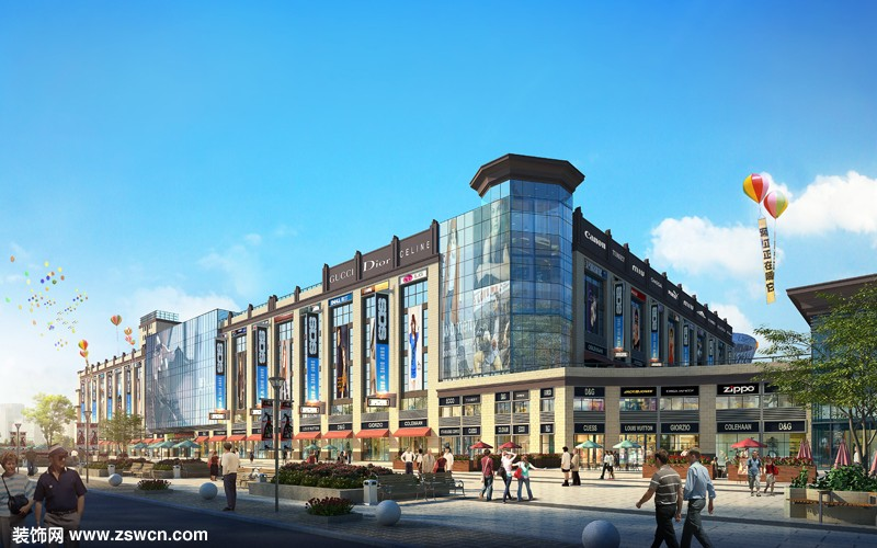 商场装修设计效果图:凯威国际
