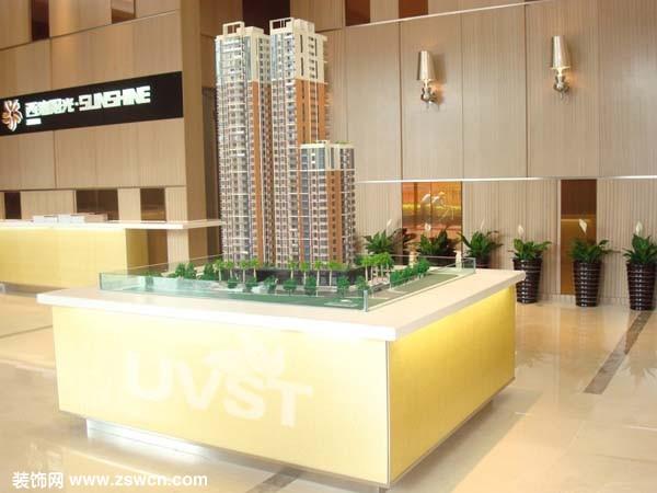 优威斯特透光板案例应用——广州西湾阳光售楼中心