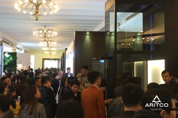 设计上海2017完美收官,瑞特科Aritco家用电梯首秀告捷