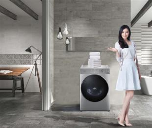 五一家装家电换新 松下罗密欧系列超薄型滚筒洗衣机品质之选