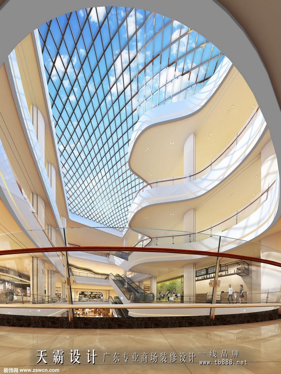 城市综合体设计效果图室内设计作品个性化明显