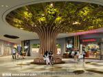 天霸设计购物中心装修设计效果图2017差异化设计分享