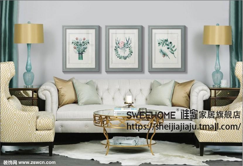 怎么选合适的装饰画来布置墙面