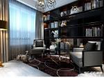 鲁德海德堡264平4室2厅3卫现代简约装修案例|青岛实创装饰