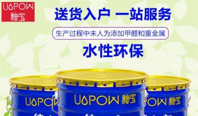 釉宝纯小白时尚白釉水性环保耐水耐候抗碱防水耐污耐擦洗墙面涂料