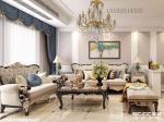 龙湖春江郦城93平三居室装修设计,美式风格!