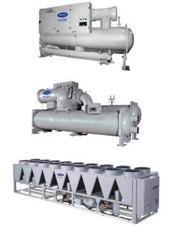 开利推出采用更低全球变暖潜能值(GWP)制冷剂的冷水机组