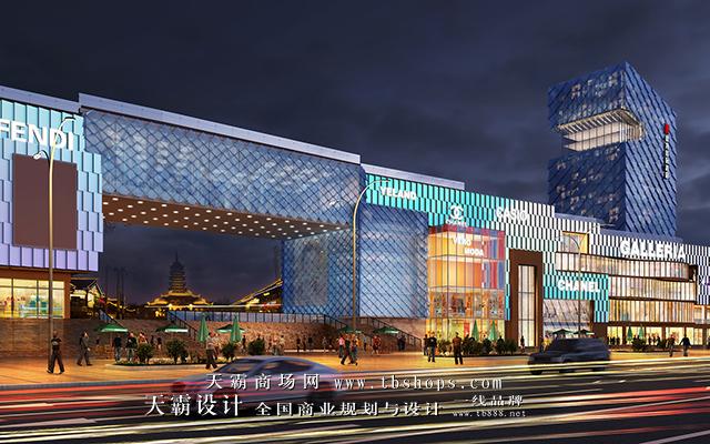 陕西景龙国际及其步行街设计效果图与您分享