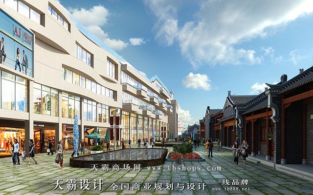 陕西景龙国际及其步行街设计效果图与需求防城港步行街设计的客户分享