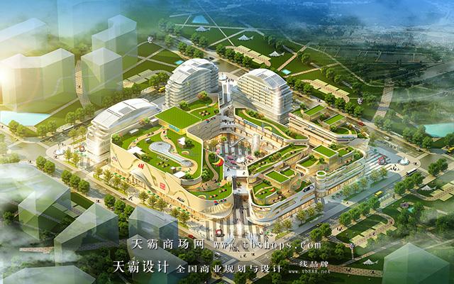 城市综合体设计效果图2018新图来袭天霸设计为您更新换代
