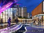 分享天霸设计的商业街设计效果图作品