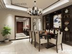 世茂意墅湾176平别墅装修,新中式风格设计!