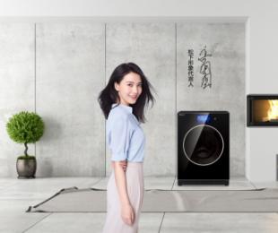 松下柜式洗衣机Cuble御铂系列,做时代的生活鉴赏家