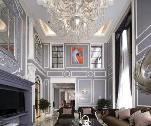 星杰装饰的560㎡浪漫法式,这才是美大宅打开方式!