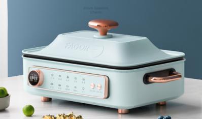 好锅分享 让你趣味烹饪的法格智能多功能料理锅