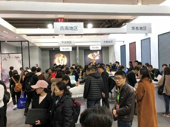 """行业复苏,北京墙纸墙布展持""""证""""上岗"""
