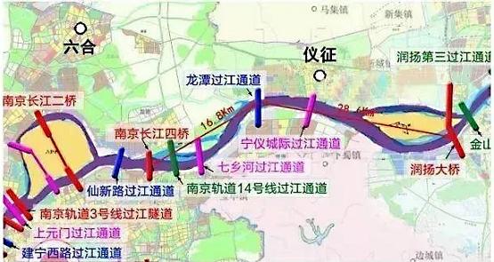 世界级跨江工程!君豪攻坚龙潭长江大桥,助力宁镇扬一体化发展